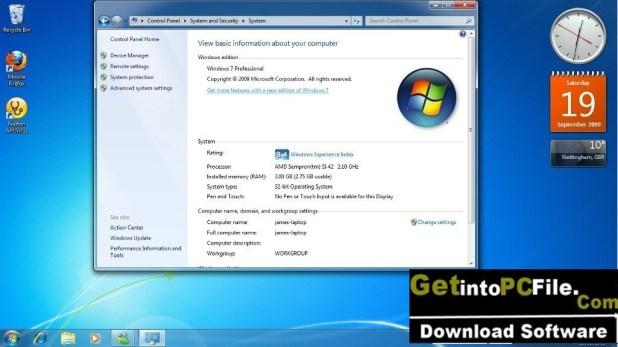 Windows 7 Ultimate 32 bit free download 1024x576 1