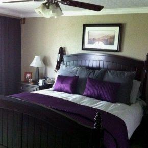 Masculine Purple Bedroom Thesoundlapse Com