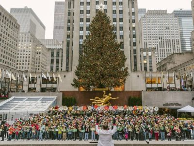 45TH ANNUAL MERRY TUBA CHRISTMAS AT ROCKEFELLER CENTER