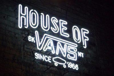 VANS HOUSE PARTY