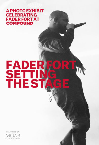 The FADER & The Compound Present Setting The Stage