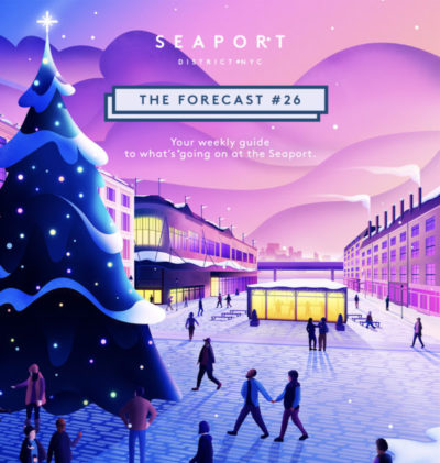 Seaport District Annual Tree Lighting: WinterLand