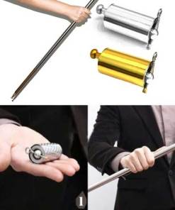 Pocket Staff Magic Stick Portable Martial Arts Metal Bo Staff