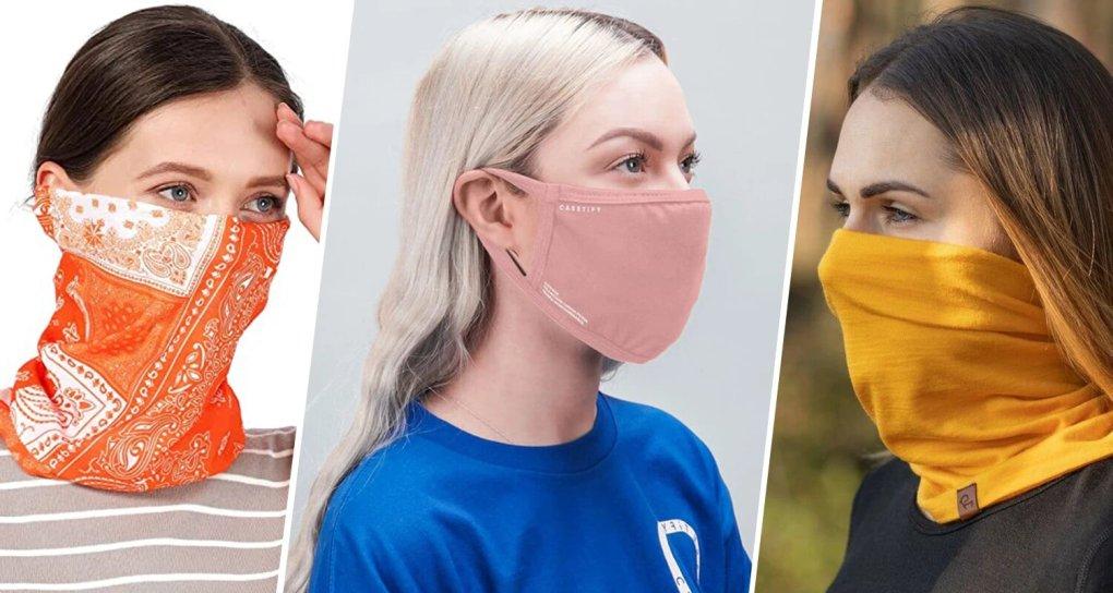 face mask banner