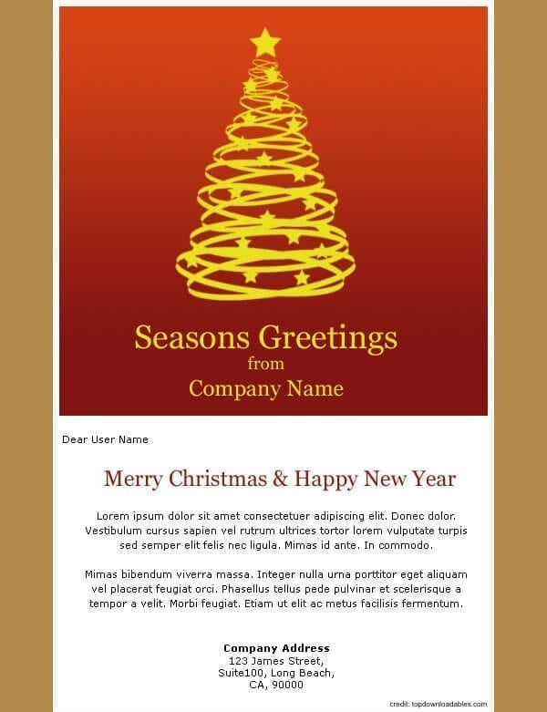 email new year templates merry christmas and happy new year 2018