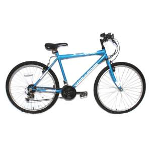 "Challenge Emulator 26"" 18 Speed Mountain Bike Blue 19"""