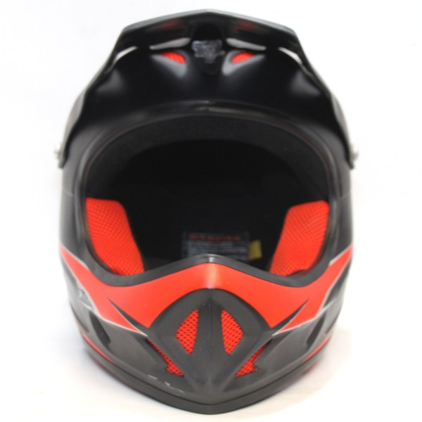 Azonic Fury Full Face DH Helmet Black Red XL 2007
