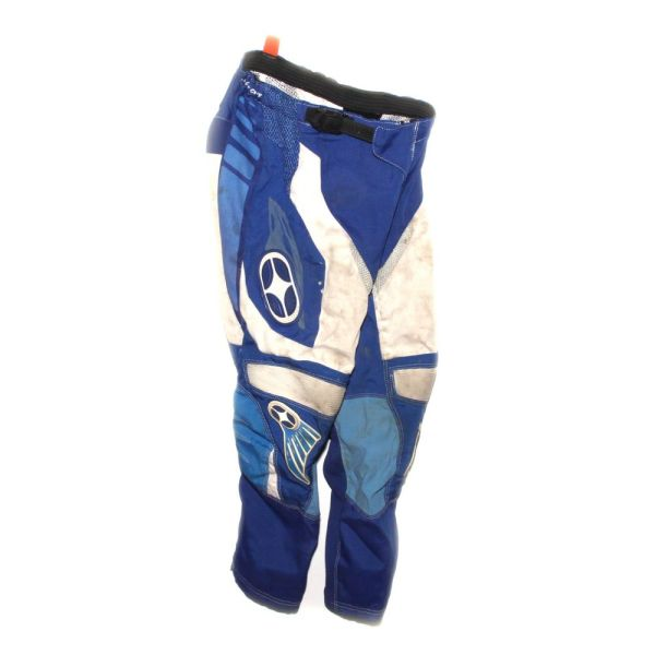 No Fear Blue Kids BMX Race Pants 26""