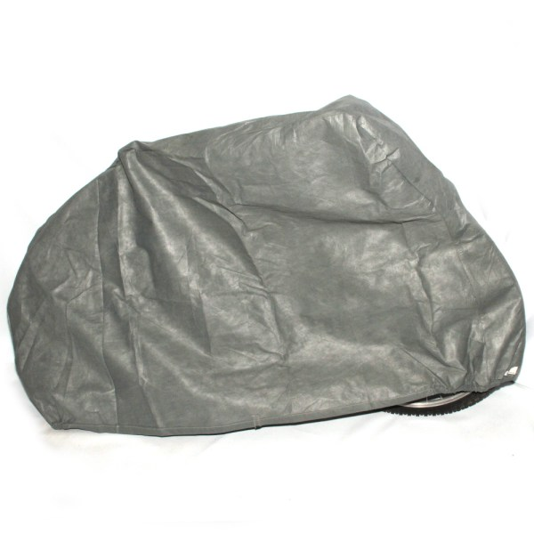 Halfords Bikehut All Weather Breathable Single Adult Bike Cover Grey Fabric