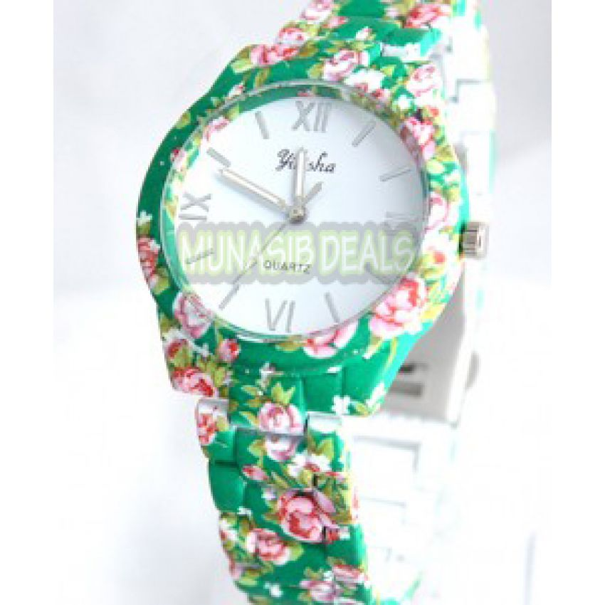 Pack of 2 Floral Ladies Watches