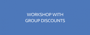 Workshop With Discount Pricing Options
