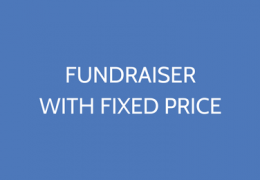 Fundraiser With A Fixed Price