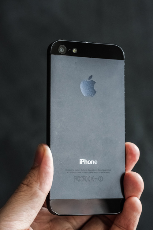 Appearance Back Of An IPhone