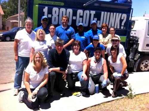 800 got junk truck, junk removal team, organizers, hoarder on a&e