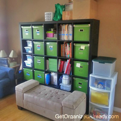 get organized already, professional organizers