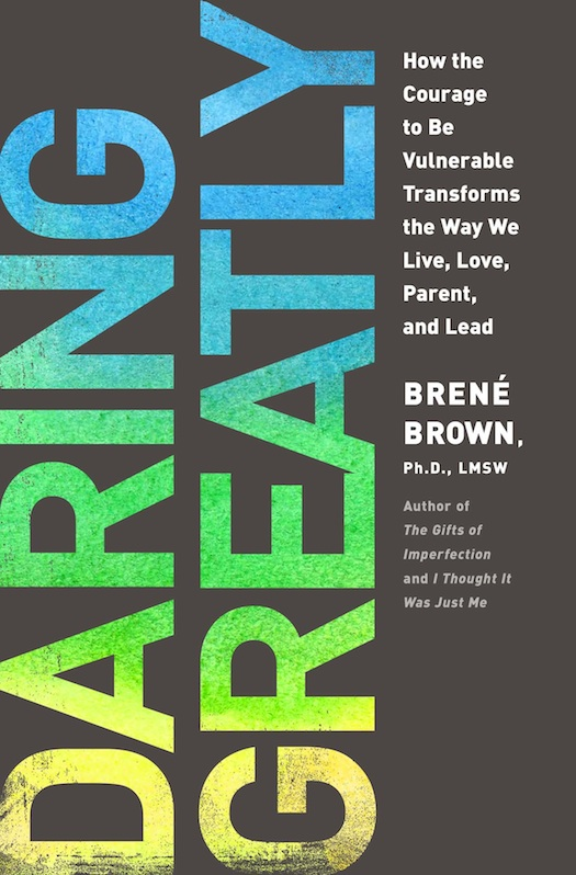 """cover of book """"Daring Greatly"""""""