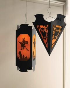 spooky shadow lanterns