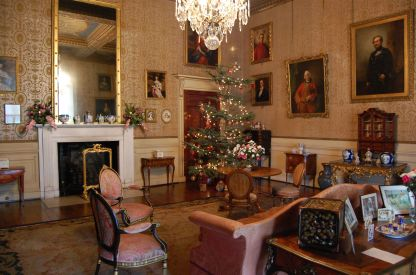 Christmas in the drawing room
