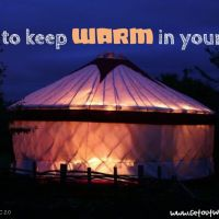 Keeping your tent warm: Autumn, Winter, and Spring