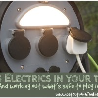 Using an Electric Hook Up (EHU) when Camping