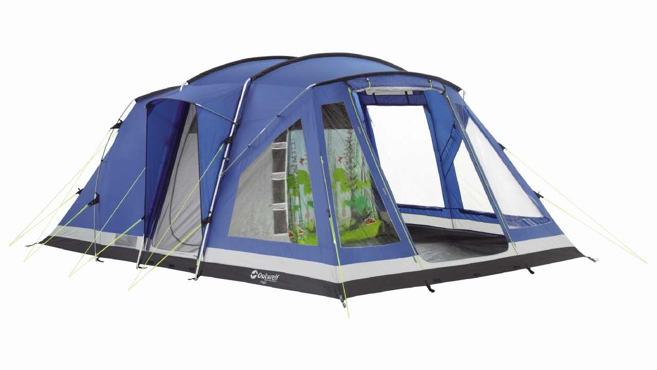 Outwell Magic Fantasy Tent - A 2 bedroom tent with kids room  sc 1 st  Get Out With The Kids & Outwell Oakland XL Tent (2012 Deluxe Edition) - Tent u0026 Extras - Review
