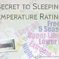 The Secret to Sleeping Bag Temperature Ratings