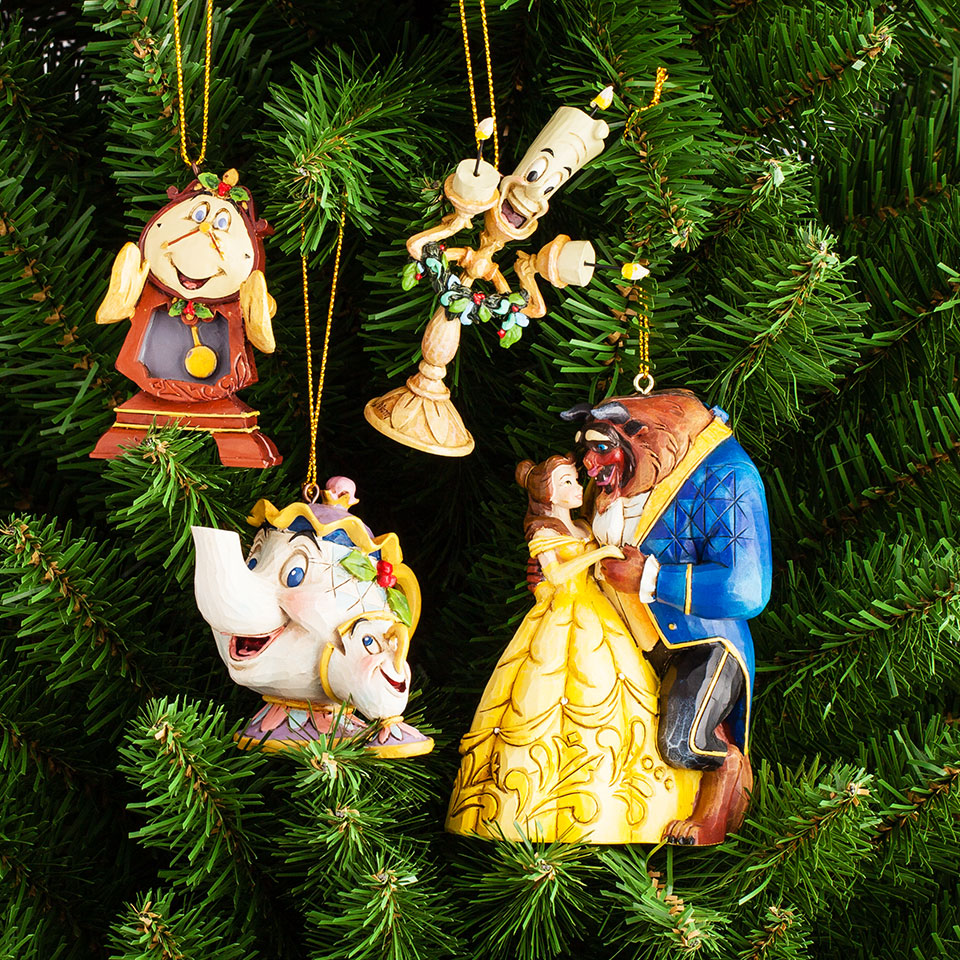 Hanging Ornaments Beauty Amp The Beast