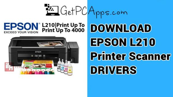 EPSON L210 Printer Scanner Drivers Download for Windows