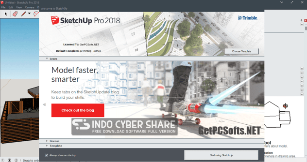 Sketchup license and authorization code
