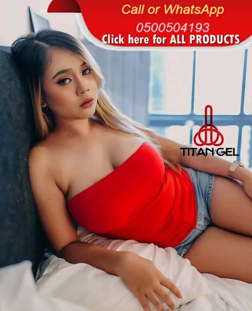 Penis enlargement Titan gel cream