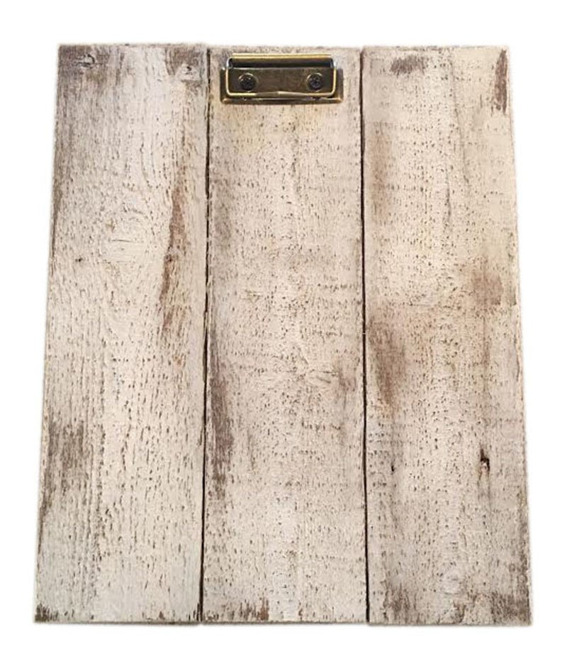 Rustic Wood Clipboards Pistol Petes