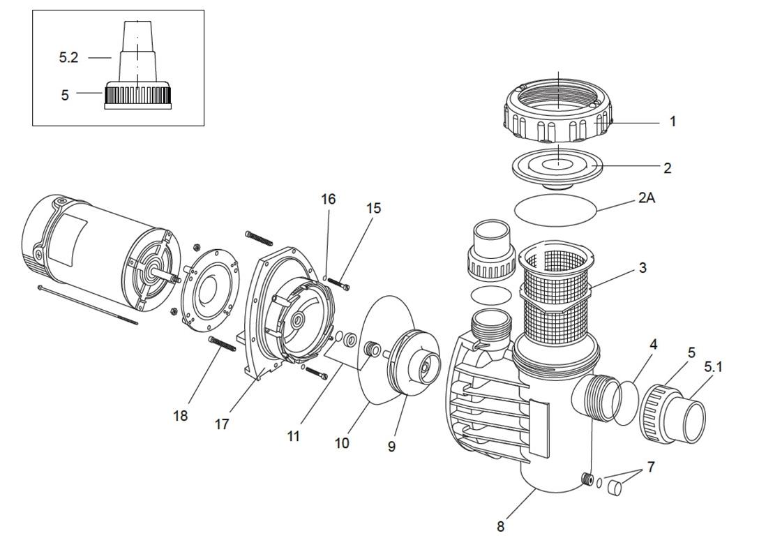 Speck Model E91 Pump Parts