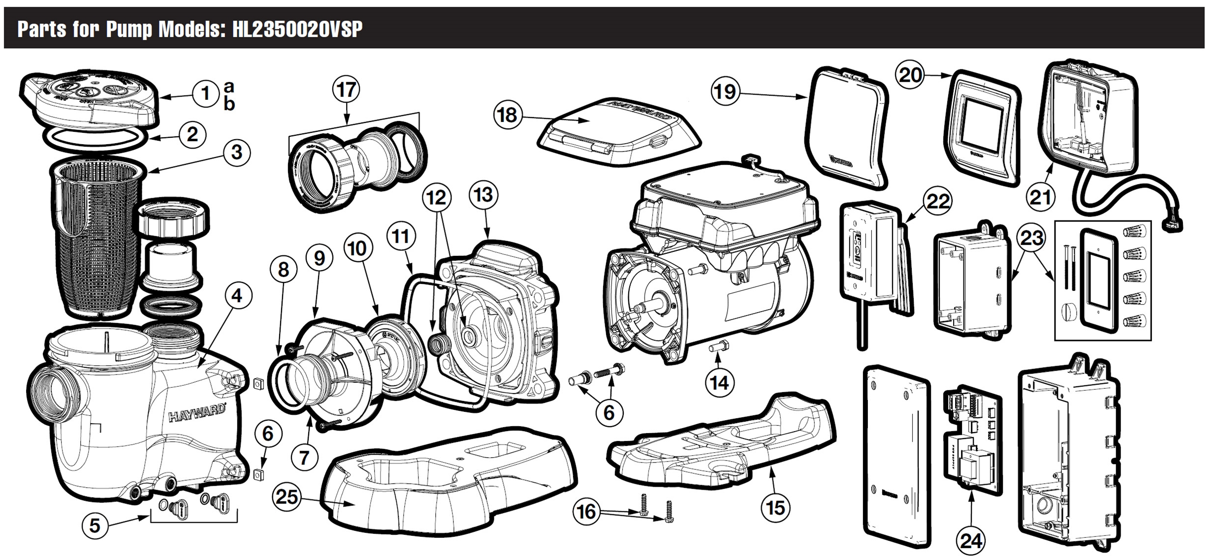 Hayward Maxflo Vs 500 Omni Pump Parts