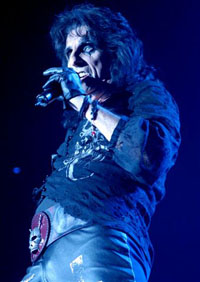 Alice Cooper in 2007, still rocking