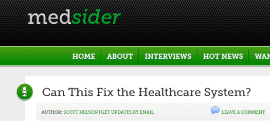 Medsider CEO Interview from Jonathan Govette on our Broken Referral System -  Medsider.com