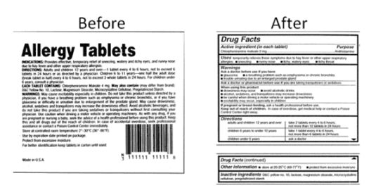 medicine labels - Are You Health Literate?