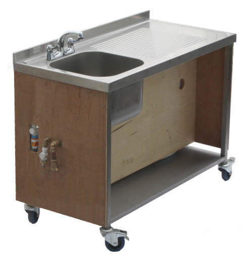 mobile sink unit hire get set hire