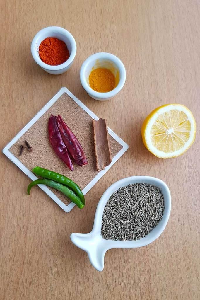 Seasonings for one pot vegan rice
