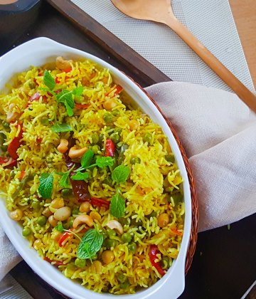ONE POT VEGAN RICE