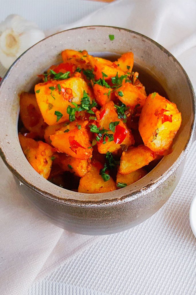 Lebanese Spicy Potatoes
