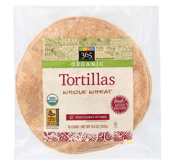 Whole Foods Tortillas