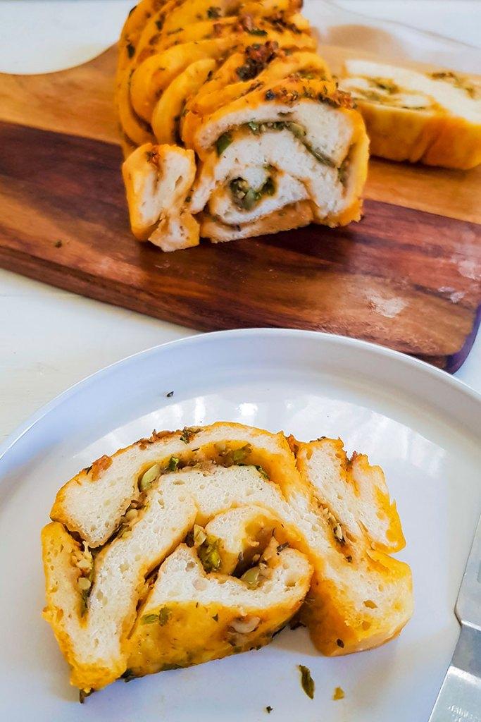 vegan babka bread