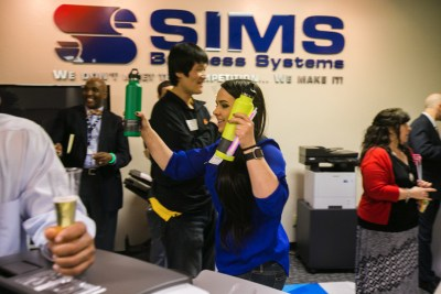 open house at sims business systems 2