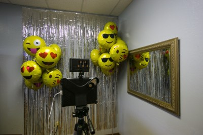photo booth at sims business systems