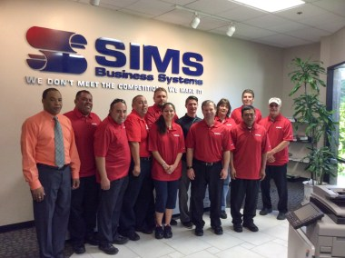 service team sims business systems 22