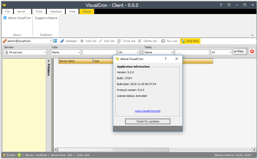 VisualCron Pro Crack Serial Key