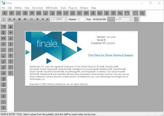 MakeMusic Finale Crack Serial key