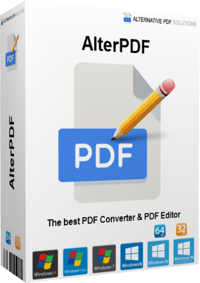 AlterPDF Pro 4.1 With Crack » Get Softwares