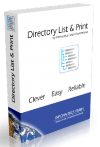 Directory List and Print Pro Crack
