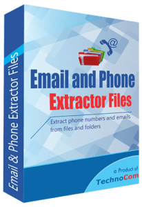TechnoCom Email and Phone Extractor Files Crack